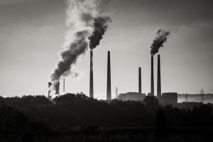 תחנת כוח פחמית בסינסינטי. צילום: Robert S. Donovan, Flickr