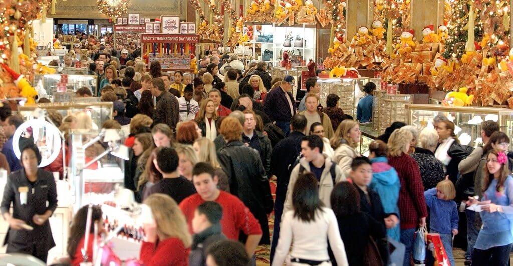 פתיחת עונת הקניות שלפני חג המולד בניו יורק. צילום: אימג'בנק/Gettyimages