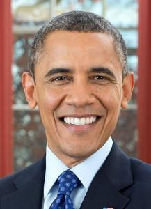 """נשיא ארה""""ב ברק אובמה. מזכיר לטאה? צילום:Pete Souza, Wikipedia"""