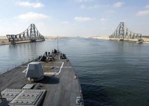 התעלה מפעילה סלקציה ראייתית. צילום: U.S. Navy