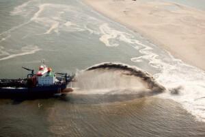 כריית חול ימי. Teun Van den Dries