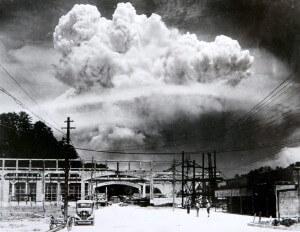 הפצצה מעל הירושימה. תצלום: ויקיפדיה