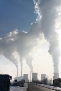 זיהום שמקורו בשריפת דלקי מאובנים. צילום: pixabay