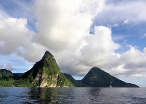 סנט לוסיה. עד סוף המאה יהיה האי מתחת למים? צילום: jerry dohnal, Flickr