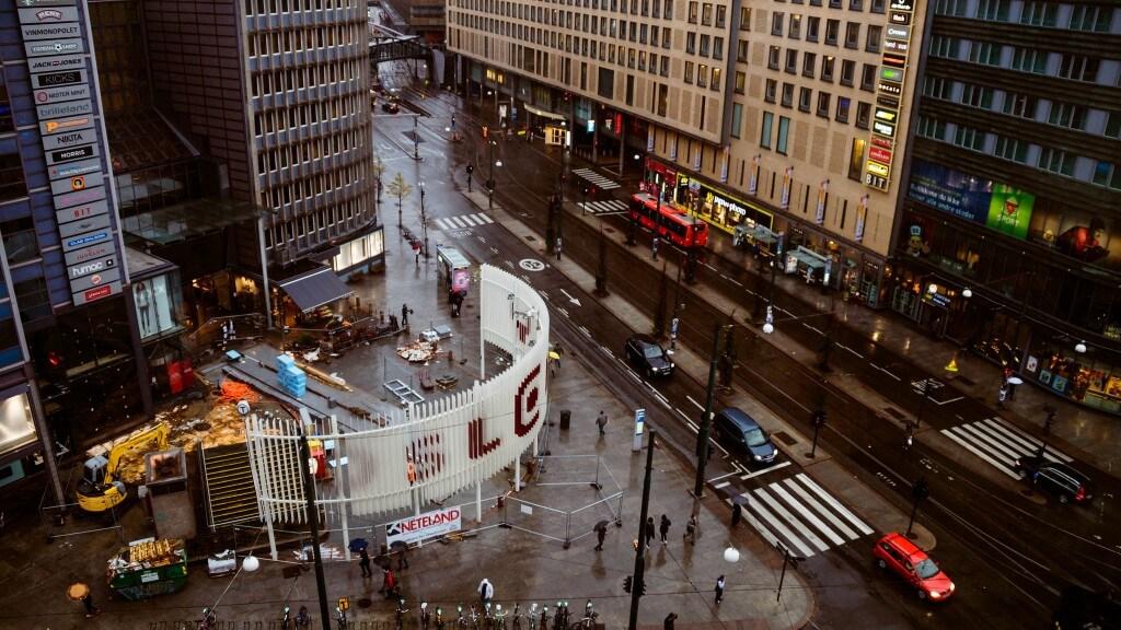 הממשלה הנורבגית מתגייסת להפחתת זיהום האוויר: בשנת 2019 מרכז העיר אוסלו ייסגר לכניסת מכוניות. צילום: Jeffrey Zeldman