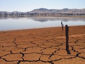 עדויות לבצורת באוסטרליה: התייבשות אגם יום ב-2007. צילום: suburbanbloke - flickr
