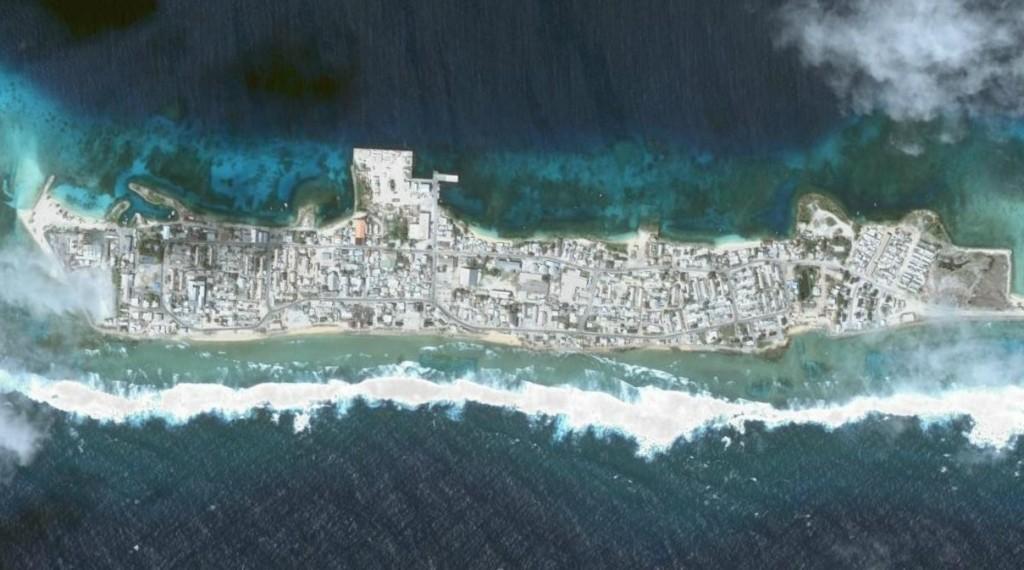 האי אביה שבאיי מרשל. דוגמה טובה לעליית פני הים. תצלום: ויקיפדיה
