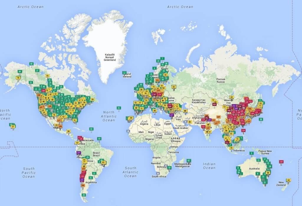 מפה עולמי-1ת