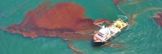 """דליפת הנפט במפרץ מקסיקו. תצלום"""" Office of Response and Restoration, Flickr"""