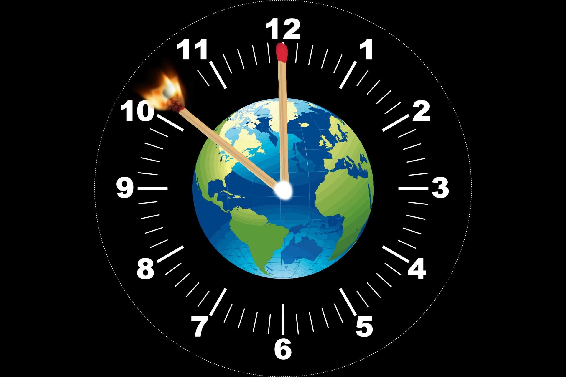 עת הקורונה, עידן משבר האקלים