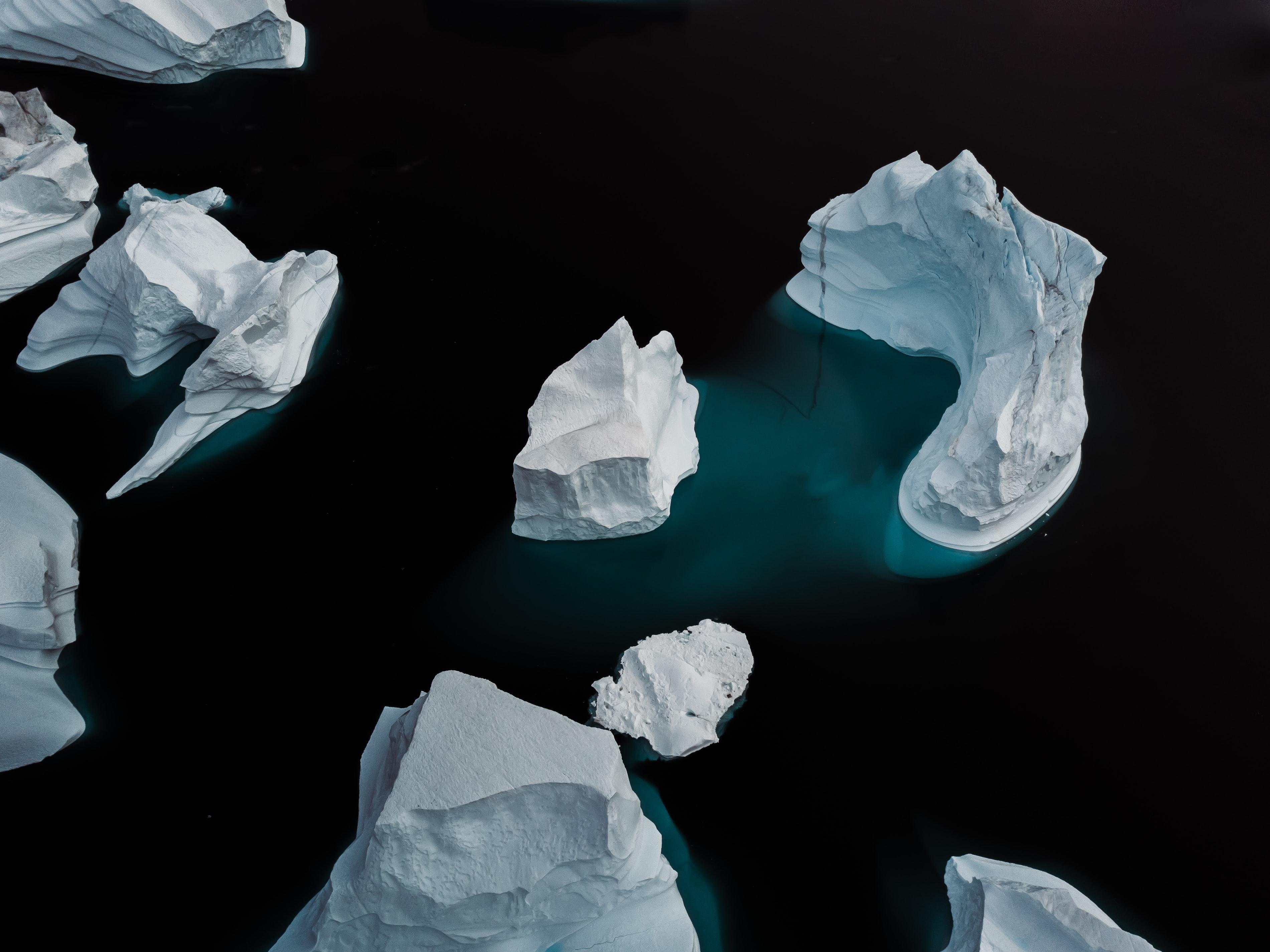 שיחה בין קרחונים