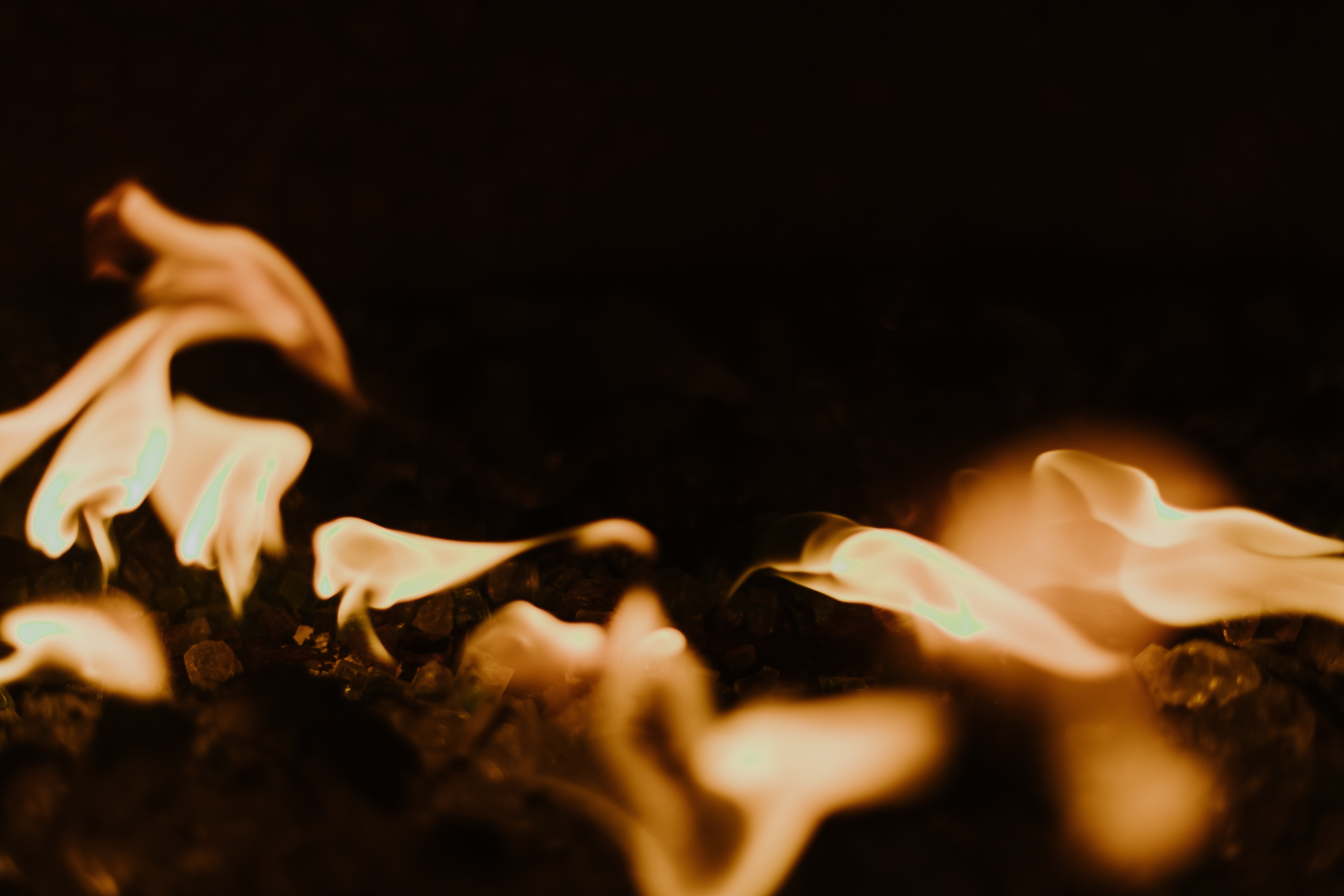 selective focus photo of fire