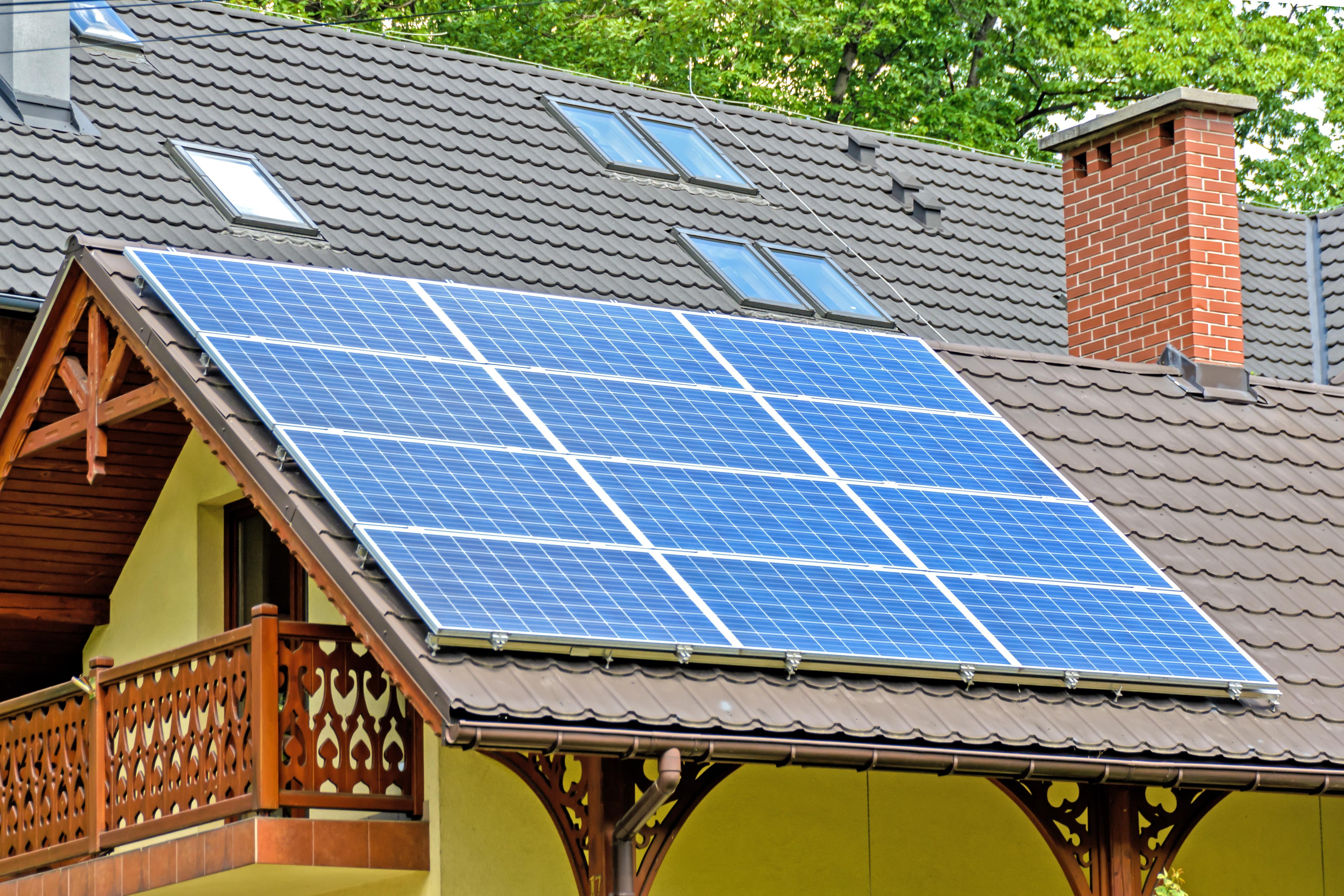 solar panels, heating, renewable energy